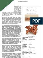 Cobre - Wikipedia, La Enciclopedia Libre