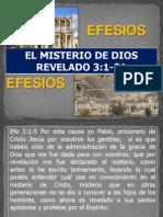 6) Efesios. El Misterio de Dios Revelado 3.1-21