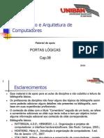 Tópico 08 - Portas Lógicas