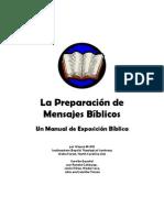 Wayne McDill Preparación de Mensajes Bíblicos