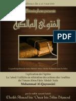 La Fatwa Malikite en Refutation Des Actions Des Soufites