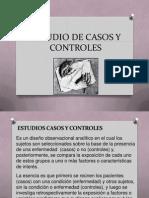 diseños casos-control, cohorte y ensayo clinico