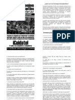 """Boletin Consejos Estudiantiles Secundarios """"Por el derecho a la protesta""""Cc Ee Secunda Rios"""