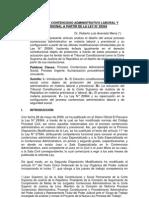 El Proceso Contencioso Administrativo Laboral