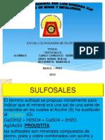 SULFOSALES 1