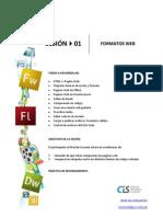 Sesión 01 - Formatos Web