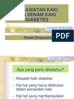 Perawatan Kaki Diabetes Dan Senam Kaki