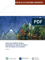 Corporate Ecosystem Services Review Es