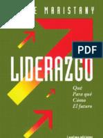 Jaime Maristany - Liderazgo