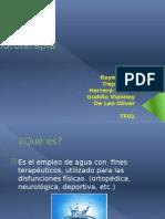 Hidroterapia presentacion...
