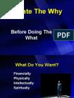 Create the Why