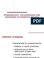 Epidemilogi, Patogenesis & Diagnosis DM
