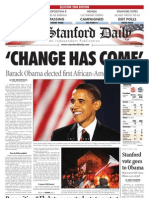 11/05/08 The Stanford Daily