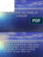 Causative Factors of Cancer
