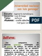 Sulfuros Ssss