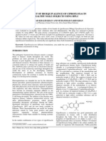 Bioequivalence-Ciprofloxacin
