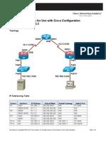 CCNASv1.1 Chp00 Lab-A Config-Devs-CCP Student
