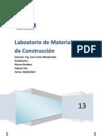 LABORATORIO DE MATERIALES DE CONSTRUCCIÓN