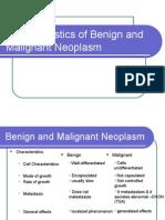 Benign and Malignant Neoplasm - Differentiation