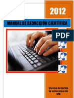 Sesión 09 G. GI_Manual de Redacción científica
