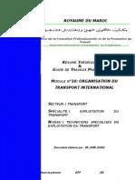 Organisation Du Transport International(Jam3i)
