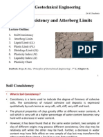 Soil Consistency and Atterberg Limits
