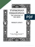 Linden Mishlen Typhonian Teratomas