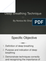 deep breathing technique