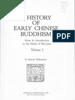 Tsukamoto Zenryu Ch 1 a History of Early Chinese Buddhism