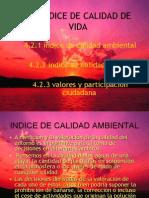 Indices de Calidad Ambienta