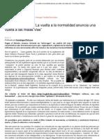 """Zygmunt Bauman """"La vuelta a la normalidad anuncia una vuelta a las malas vías"""" _ Sociólogos Plebeyos"""