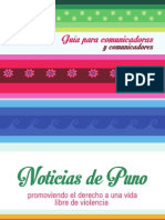 Cartilla Noticias de Puno