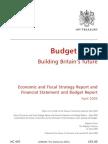 Budget 2009 HM