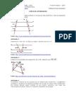 Atividades de Matematica - Teorema de Tales