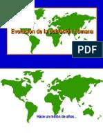Evolución y origen de la poblacion