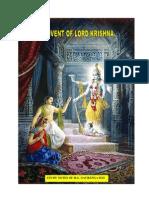 ISKCON desire tree - Advent Of Lord Krishna