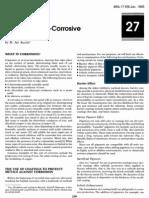 Inorganic Anti-Corrosive Pigments
