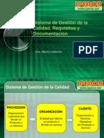 2013I SGC Requisitos Documentación