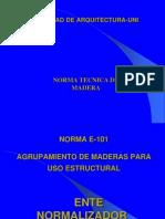 Normatividad Madera