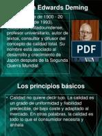 Deming y La Calidad Exposicion Ptt
