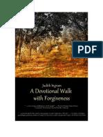 A Devotional Walk With Forgiveness - Week 1 Day 1