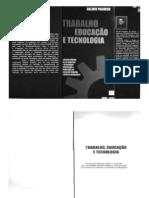 TRABALHO EDUCAÇÃO E TECNOLOGIA_Livro Dalmir_Sociologia1.doc