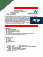 Kunhwa Engineering Consulting Accountant 1