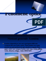 FENOMENE OPTICE