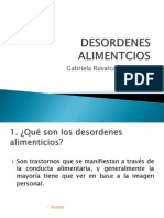 Desordenes Alimentcios Power Point