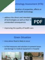 Healthcare Techonolgy Assessment (HTA)