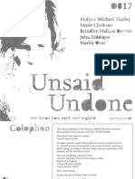 Unsaid Undone - Flax 017