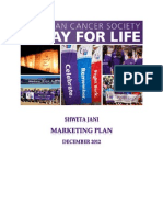 Relay for Life Marketing Plan