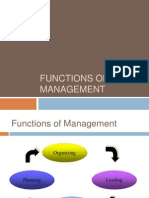 TOM Functions of Management