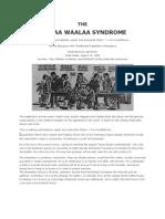THE JHOLAA WAALAA SYNDROME